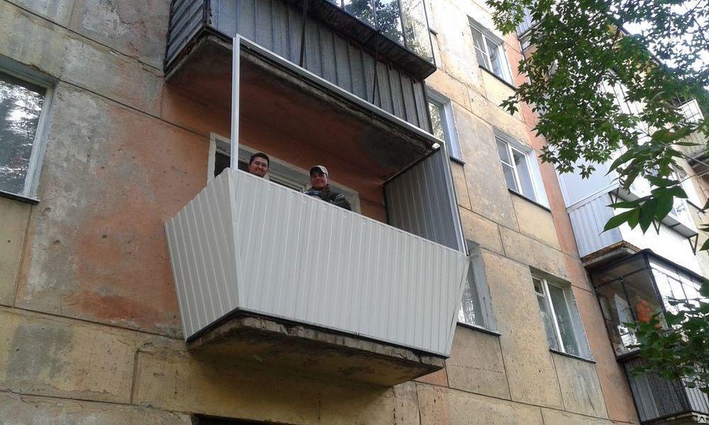 Комплексное остекление балконов
