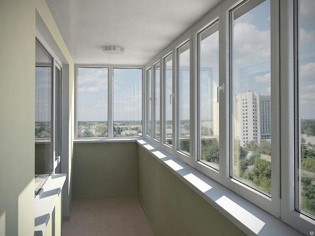 Проффесиональное остекление балконов и лоджий, фото 2
