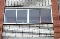 Бюджетное остекление балконов
