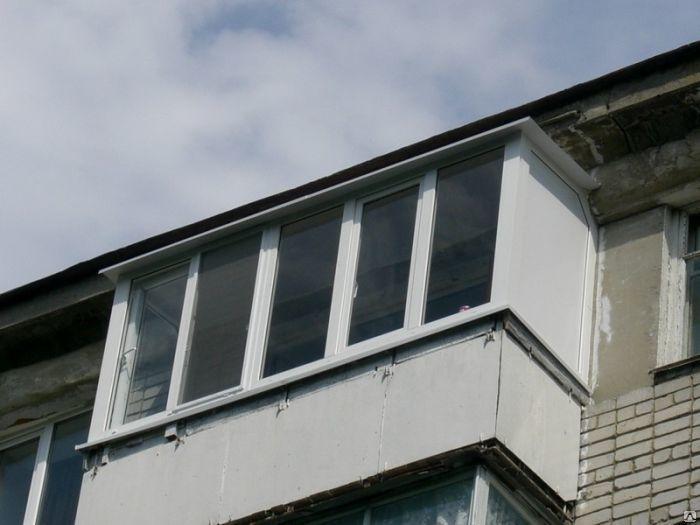 Экономичное остекление балконов