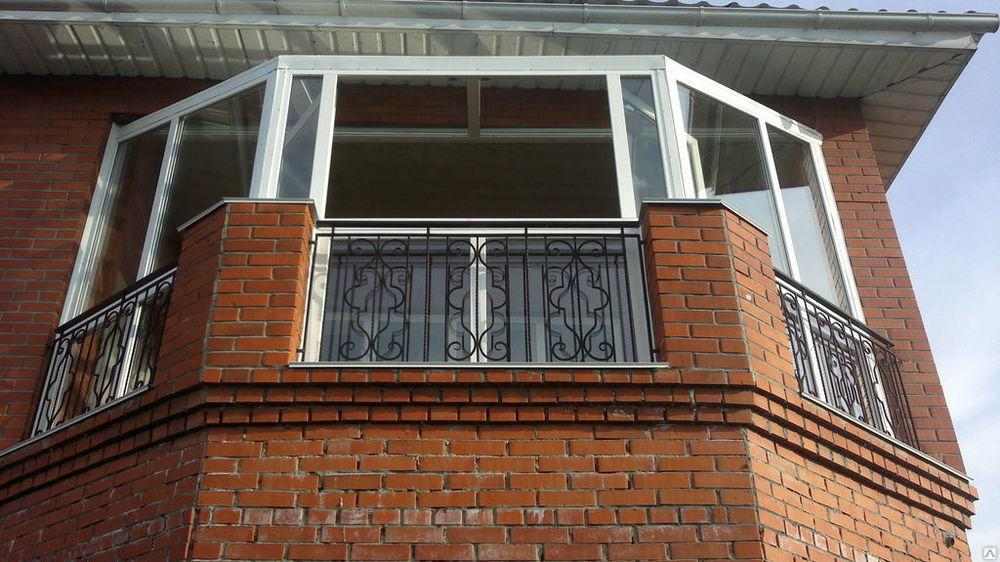 Монтаж балконных окон