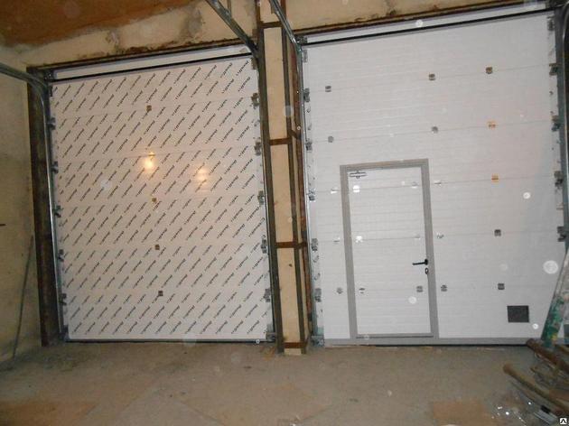 Ворота в гараж подъемные, фото 2