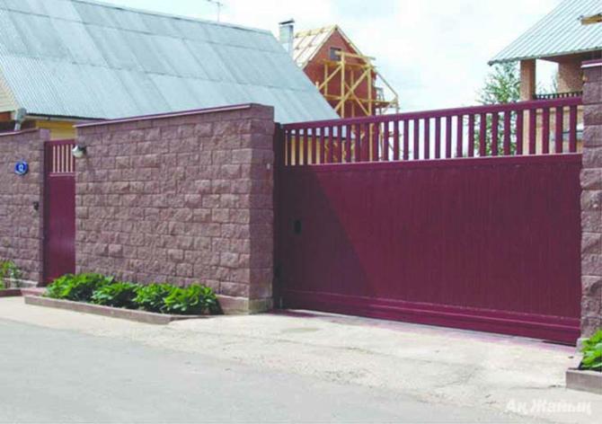 Ворота для дома, фото 2