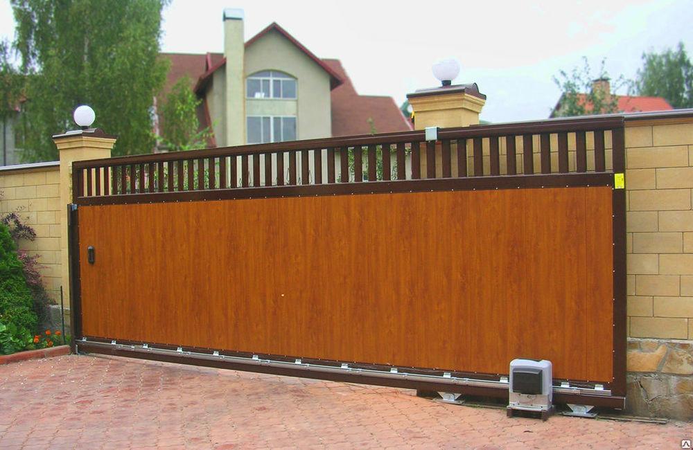 Различные виды ворот для дома и дачи