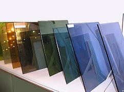 Различные виды стекла