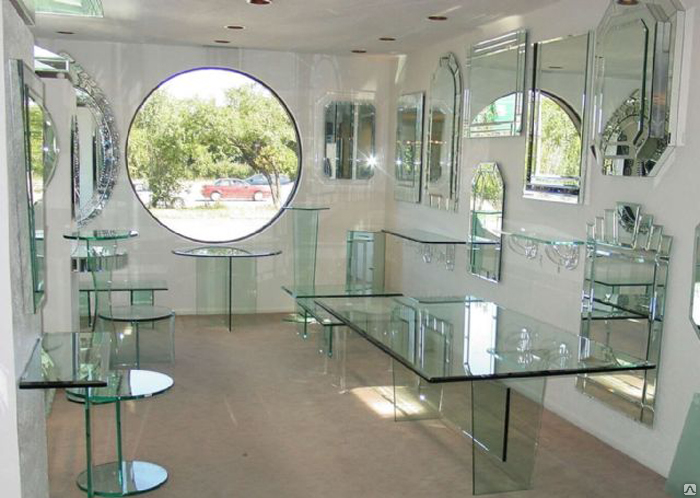 Поставка изделий из стекла