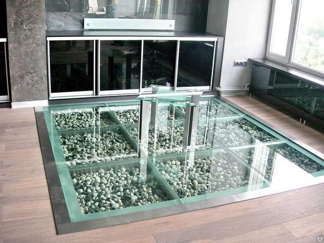 Стеклянный пол, фото 2