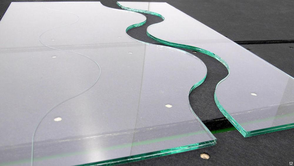 Фигурная резка стекла