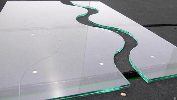 Фигурная резка стекла, фото 2