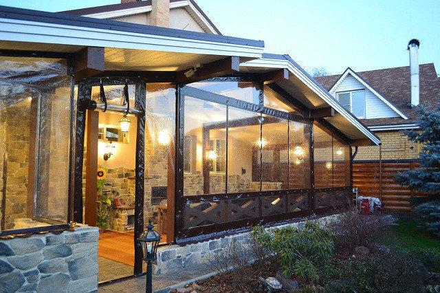 Мягкие окна ПВХ для веранд, фото 2
