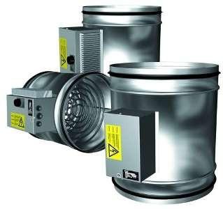 Канальный нагреватель с регулятором 2VV EOKO2-400-9-3-D