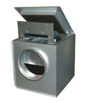 Вентилятор для круглых каналов Systemair KVK 315 L