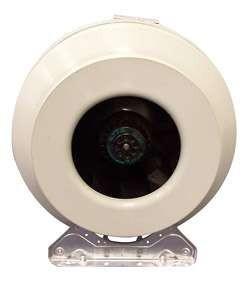 Вентилятор для круглых каналов Systemair RVK sileo 160E2-L