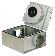 Вентилятор для круглых каналов Systemair KVO 200 EC sileo