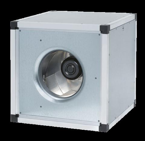 Вентилятор для квадратных каналов Systemair MUB 042 400DV sileo