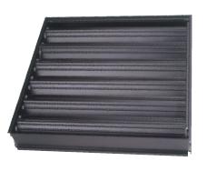 Клапан со встречными жалюзи Systemair Kvadra-R1 450