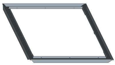 Монтажная рама Systemair CFC-AF-457x457-S600