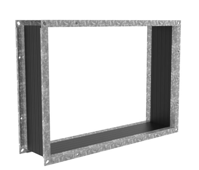 Гибкая вставка Systemair FGV 100/916-916 flex. 120°C