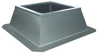 Крышый короб Systemair FDG/F 500-560 flat roof socket