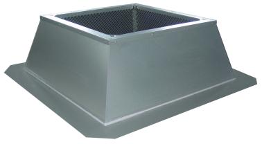 Крышый короб Systemair FDG/F 800-1000 flat roof socke