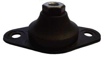 Антивибрационные опоры Systemair SD 710-1000 rubber mounts AXC