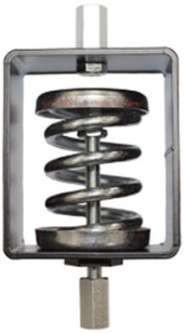 Антивибрационные опоры Systemair ZSD6 AXC spring d. set ≤540kg