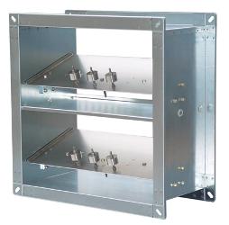 Клапан избыточного давления Systemair ORV-W-400x200