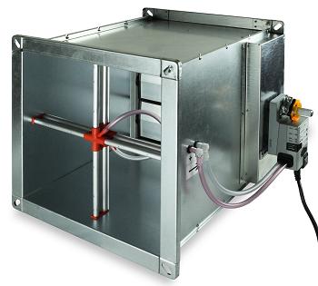 Pегулятор Systemair Optima-S-550X200-BLC1-MOD