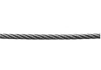Трос стальной, 80 метров, д-8 мм, с синтетической сердцевиной, DIN 3055, ЗУБР 4-304110-08