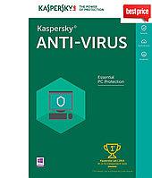 Антивирус  Kaspersky  Anti-Virus 2019  2ПК 1 год