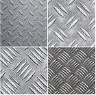 Лист алюминиевый рифленый АМГ2Нр квинтет 1,5х1200х3000 мм