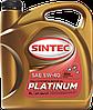 SINTEC масло синт. Платинум AE 5w40 API SN/CF S1л синтетическое
