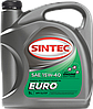 SINTEC EURO SAE 15W-40 API SJ/CF 4л