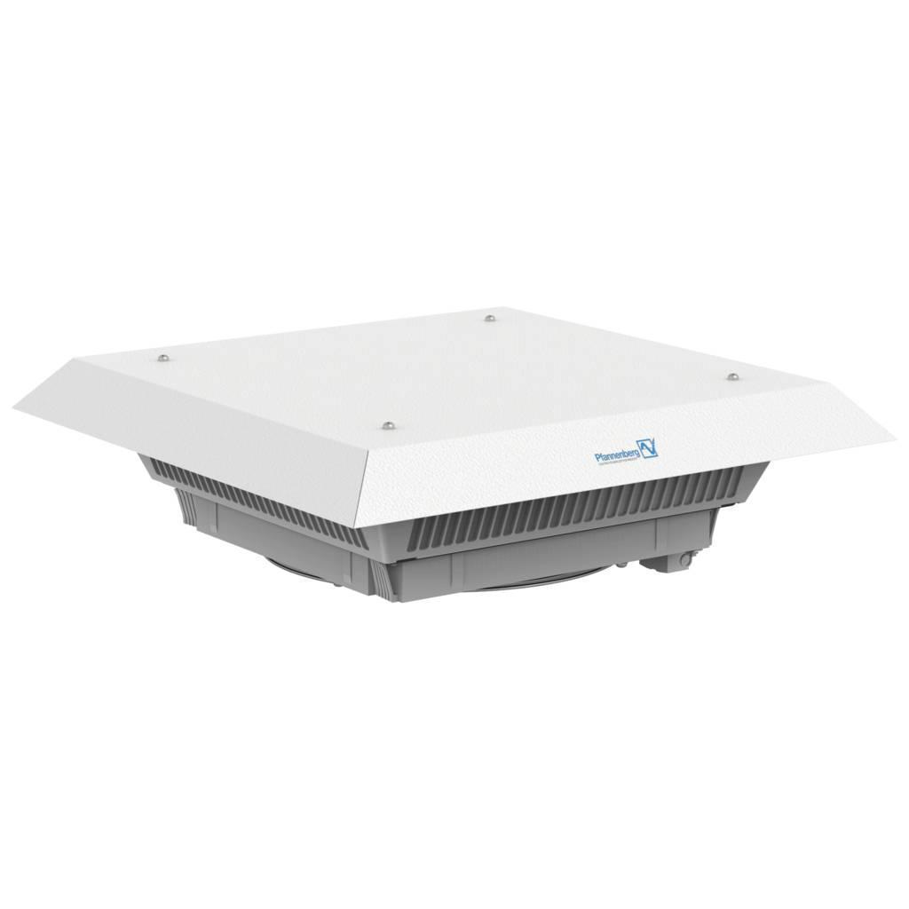 11681102055 Вентиляторы с фильтром для монтажа на крышу PTF 61.000 230V AC FM RAL7035