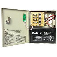 Блок питания 12В 5А резервируемый, под аккумулятор