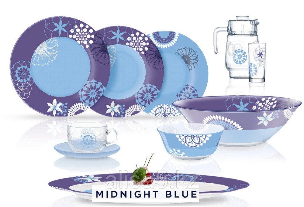 Midnight blue сервиз столовый 46 предметов на 6 персон