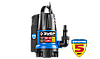 Насос АкваСенсор погружн, ЗУБР Профессионал, дренаж. для грязн воды(d частиц до 35мм),550Вт