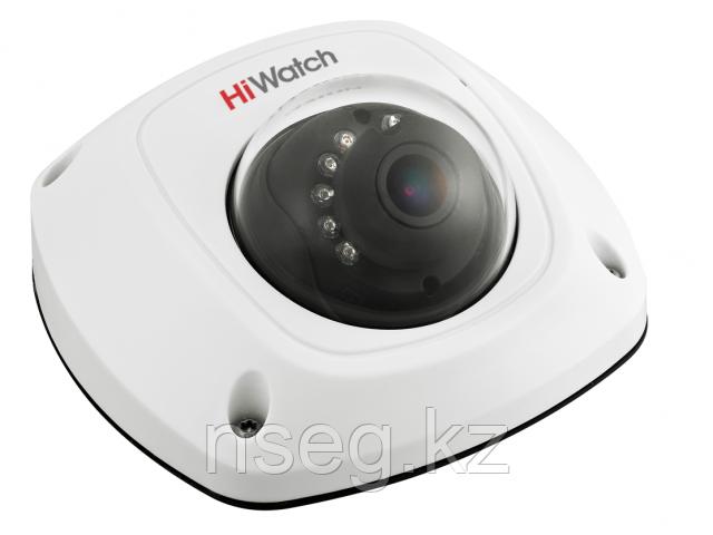 2Мп внутренняя купольная HD-TVI камера с ИК-подсветкой до 20м DS-T251