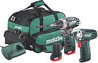 Комплект аккумуляторного инструмента Metabo Combo Set 2.310.8 В*BS+SSD,2х2Ач,сумка