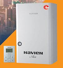 Газовый котел до 130 кв настенный двухконтурный  Navien ACE-13K+ Дымоход в подарок