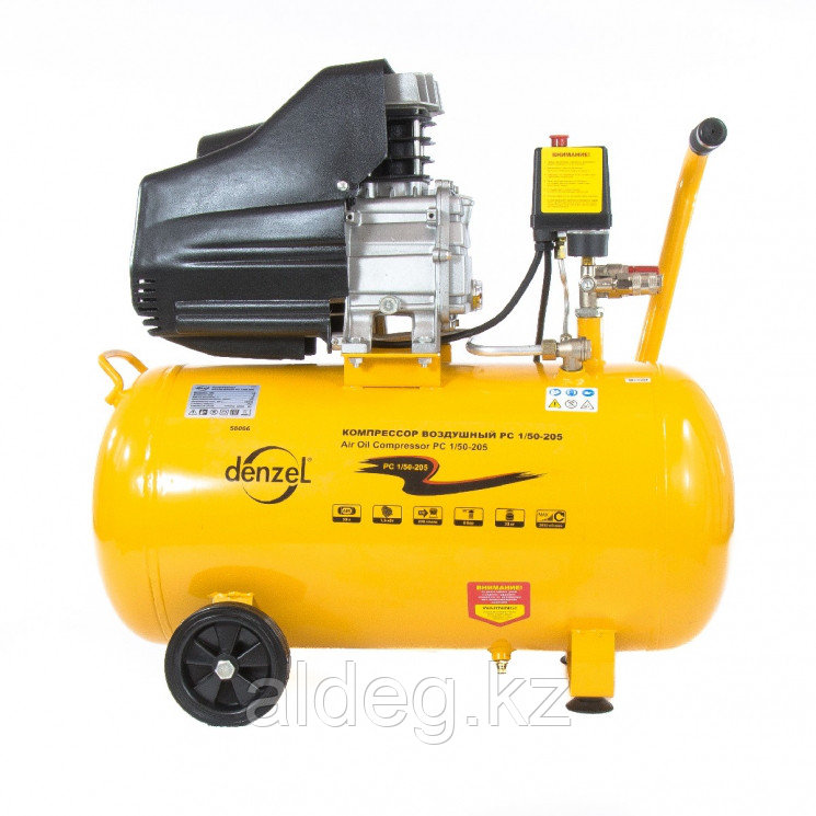 Компрессор воздушный PC 1/50-205, 1,5 кВт, 206 л/мин, 50 л// Denzel
