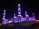 Подсветка Мечети г. Кокшетау , фото 4
