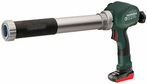 Аккумуляторный пистолет для туб Metabo PowerMaxx KP, 400мм 1х4Ач, в короб