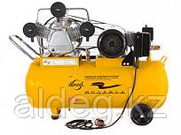 Компрессор PC 3/100-504, масляный, ременный, произв. 504 л/м, мощность 3 кВт// Denzel