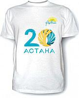 Футболка с логотипом, брендом