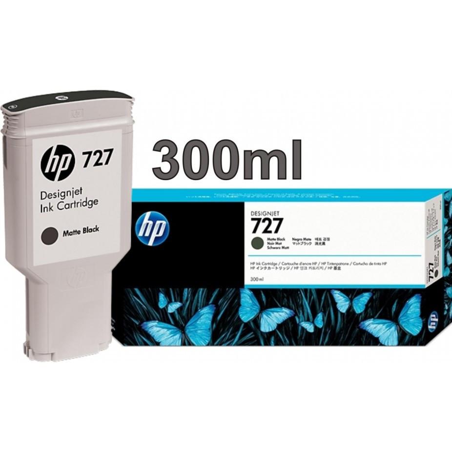 HP Картридж C1Q12A матовый черный №727