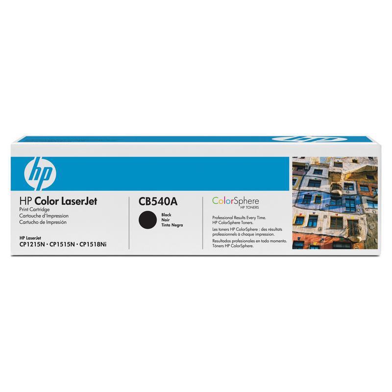 HP Картридж CB540A черный