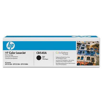 HP Картридж CB540A черный, фото 2
