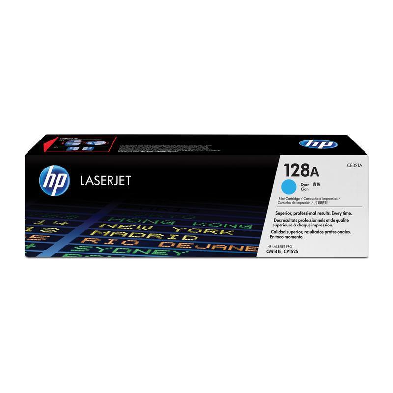 HP Картридж CE321A голубой