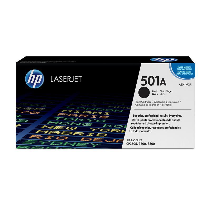 HP Картридж Q6470A черный